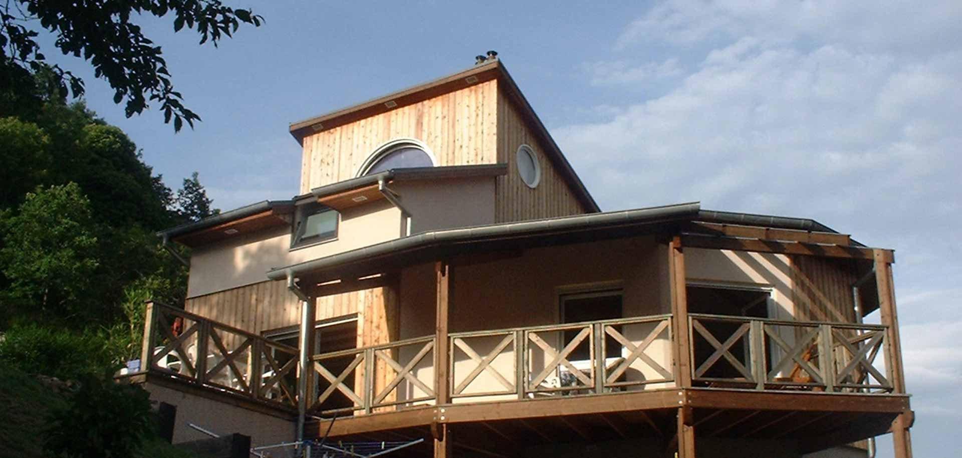 maison moderne, bardage & ossature bois - maison moderne, bardage &