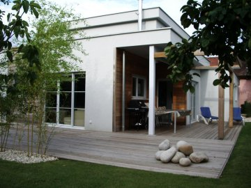 Maison contemporaine cubique
